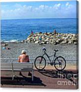 Living The Dream.nice.france Canvas Print