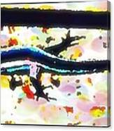 Lizard Landing Canvas Print
