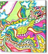 Ioli - Lizard Canvas Print