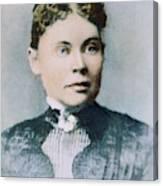 Lizzie Andrew Borden (1860-1927) Canvas Print