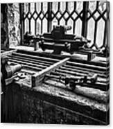 Llanberis Slate Museum - Workshop 1 Canvas Print
