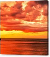 Llandudno Sunset Canvas Print