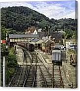 Llangollen Railway Station Canvas Print