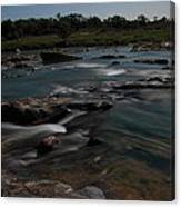 Llano River 2am-105143 Canvas Print