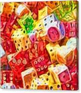 Loaded Dice Canvas Print