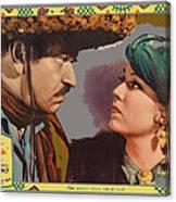Lobby Card Viva Villa Wallace Berry Fay Wray 1934-2013 Canvas Print