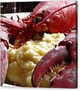 Lobster Dinner Canvas Print