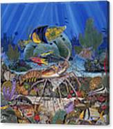 Lobster Sanctuary Re0016 Canvas Print