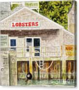 Lobster Shack Canvas Print