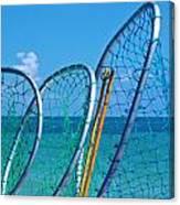 Florida Lobster Diving Tools Canvas Print