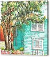 Local Artists Gallery, Monterey, California Canvas Print