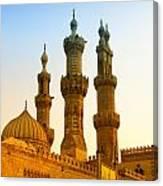 Local Cairo Mosque 05 Canvas Print