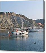 Local Fishing Boats Canvas Print