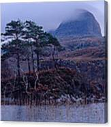 Loch Druim Suardalain Canvas Print