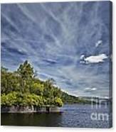 Loch Katrine Landscape Canvas Print