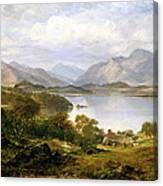 Loch Lomond, 1861 Canvas Print