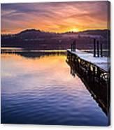 Loch Lomond Dawn Canvas Print