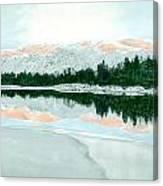 Loch Ossian Canvas Print
