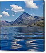 Loch Scavaig Canvas Print