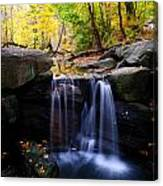 Loch Waterfall Canvas Print