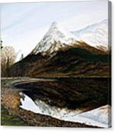 Lochleven Reflections Canvas Print