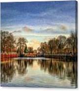 Lock Ger5079 Canvas Print