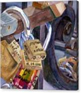Locks Of Luck Canvas Print