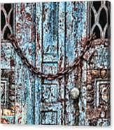 Locked And Chained Canvas Print