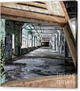 Locker View Canvas Print