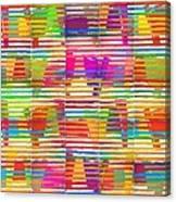 Loco Mundo Canvas Print