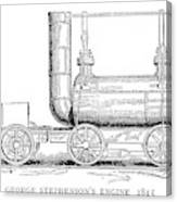 Locomotive, 1815 Canvas Print