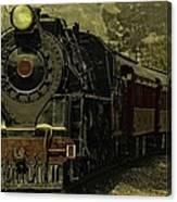 Locomotive 499  Canvas Print