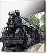 Locomotive 639 Type 2 8 2 Out Of Bounds Canvas Print