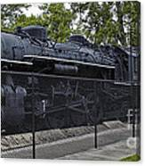 Locomotive 639 Type 2 8 2 Side View Canvas Print