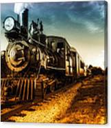 Locomotive Number 4 Canvas Print