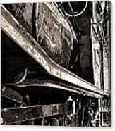 Locomotive Canvas Print