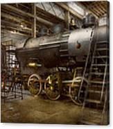 Locomotive - Repairing History Canvas Print