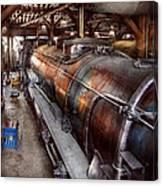 Locomotive - Routine Maintenance  Canvas Print
