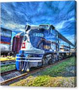 Locomotive Wabash E8 No 1009 Canvas Print