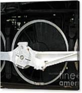 Locomotive Wheels 2 Canvas Print