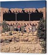 Lodge At Grand Canyon Canvas Print