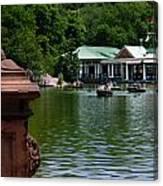 Loeb Boathouse Central Park Canvas Print