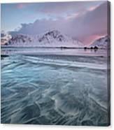 Lofoten Island Sunrise Canvas Print
