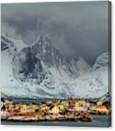 Lofoten Light Canvas Print