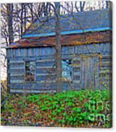 Log Cabin Revisited Spring 2014 Canvas Print
