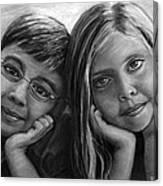 Logan And Ashlyn Commission Canvas Print