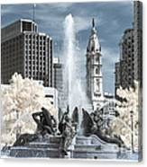 Logan Fountain Canvas Print