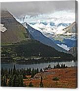 Logan Pass Morning View Canvas Print