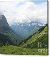Logan Pass Before The Storm Canvas Print