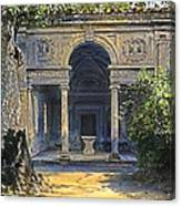 Loggia Of The Muses Canvas Print